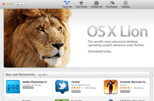 OS X Lion in the Mac App Store